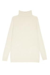 Белый кашемировый свитер Addicted