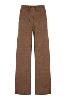 Бежевые брюки из кашемира Addicted