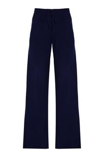 Синие кашемировые брюки Addicted