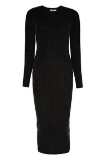 Черное платье из шерсти Addicted