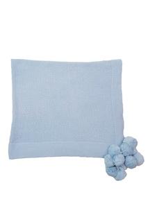 Голубой плед из хлопка «Маленькая радость» La Petite Joie