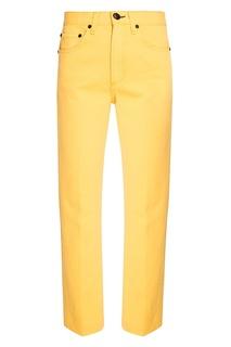 Желтые джинсы Rag&Bone