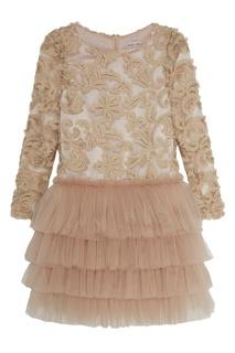 Вышитое платье Elizabeth Balloon and Butterfly