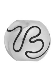 Серебряный шарм Letter B U Jewels