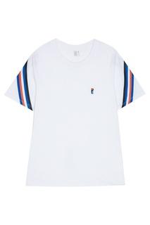 Хлопковая футболка с монограммой P.E Nation