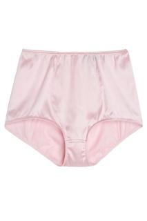Розовые шелковые трусы Dolce & Gabbana