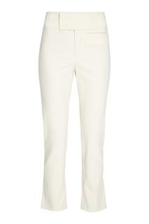 Хлопковые брюки с широким поясом Isabel Marant