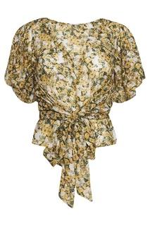 Блузка с узлом по центру Isabel Marant