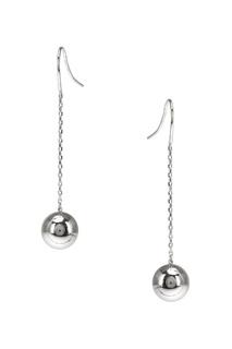 Серебряные серьги с шариками Exclaim