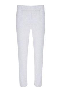 Серые меланжевые брюки Blank.Moscow