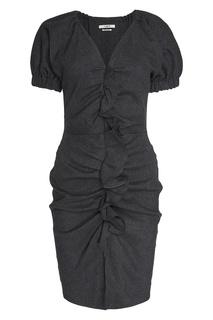 Льняное платье с драпировками Isabel Marant Etoile