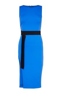 Платье с асимметричным подолом David Koma