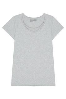 Серая футболка с круглым вырезом Bread&Boxers