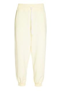 Спортивные брюки молочного цвета Sport Angel