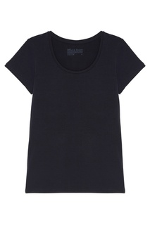 Синяя футболка свободного кроя с круглым вырезом Bread&Boxers