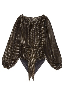 Блузка-боди с люрексом Yasmine Bodypoetry