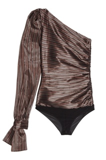 Асимметричная блузка-боди Dotwillow Bodypoetry