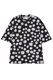 Хлопковая футболка с платком Balenciaga