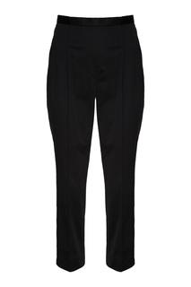 Черные хлопковые брюки Marc Jacobs