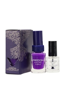 Лак для ногтей Freedom / Пурпурное сердце + Bond-подготовка, 9 ml Christina Fitzgerald