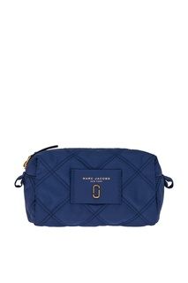Синяя текстильная косметичка Marc Jacobs