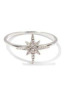 Серебряное кольцо со звездой Exclaim