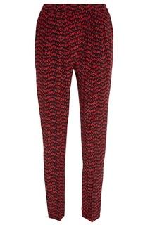 Шелковые брюки с принтом Stella Mc Cartney