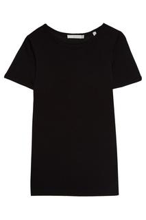 Черная футболка из хлопка Vince