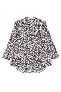Шелковая блузка с цветами Bodil Acne Studios