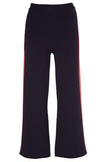 Хлопковые брюки с лампасами Stella Mc Cartney