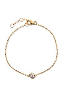 Серебряный браслет с кристаллом Exclaim