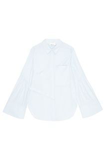 Голубая рубашка из хлопка 3.1 Phillip Lim