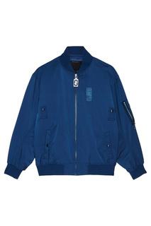 Синяя куртка-бомбер Marc Jacobs