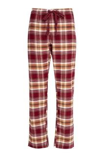 Хлопковые брюки в клетку PJ Salvage