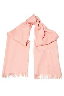 Розовый шарф с логотипом Ontario Acne Studios