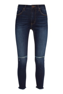 Синие джинсы с разрезами на коленях One Teaspoon