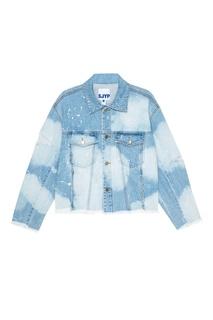 Джинсовая куртка с разрезами Sjyp