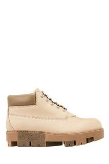 Бежевые ботинки из кожи Tinne N Acne Studios