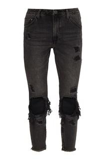 Черные джинсы с разрывами One Teaspoon