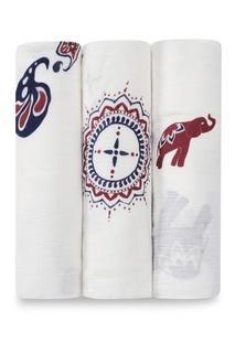 Набор пеленок с принтом в индийском стиле Aden+Anais
