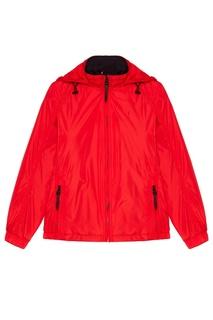 Красная куртка на молнии Zasport