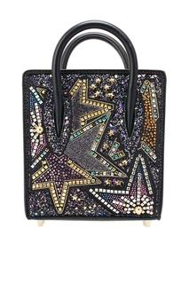 Декорированная сумка Paloma Nano Christian Louboutin
