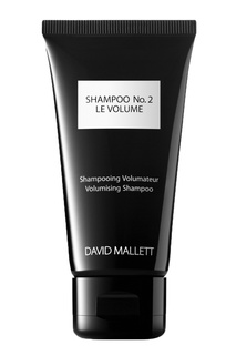 Шампунь для придания объема волосам, 50 ml David Mallett