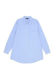 Голубая рубашка из хлопка Love Stories