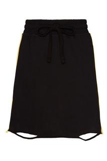 Черная трикотажная юбка-мини Zasport