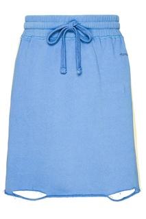 Синяя трикотажная юбка-мини Zasport