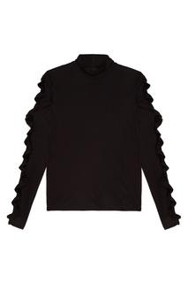 Блузка с воланами на рукавах Mo&Co