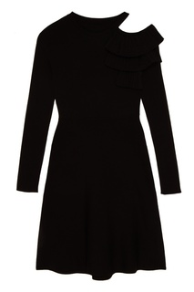 Платье с воланами на плече Mo&Co