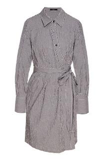 Платье-рубашка в клетку Mo&Co