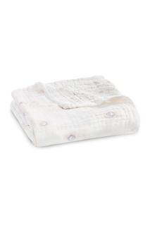 Одеяло с павлиньими перьями Aden+Anais